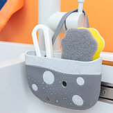 Sink Sponge Holder Storage Drain Rack Kitchen Hanging Basket Rack Holder Shelf Bathroom Organizer