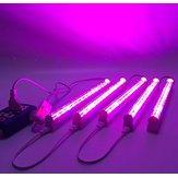 (5pcs / lot) LED coltiva la luce 660nm rossa e 455nm blu LED lampada per la tensione di entrata delle piante 85-265V