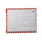 RHF78-052 SX1278 LoRa Module LoRaWAN Node Wireless Module Integrated STM32 Low Power Long Distance 433/470/868/915MHz