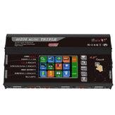 HTRC HT206 TRI AC / DC 3X200W 3X20A 4,3 polegadas LCD Tela Sensível Ao Toque Bateria Balance Charger Discharger