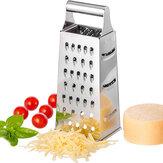 Grattugia per verdure multifunzione affettatrice da cucina in acciaio inox grattugia su 4 lati Scatola grattugia per alimenti formaggio per verdure