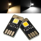 DC5V 0,6W Mini Touch Dimming Switch USB Mobil Power Camping LED Stiv Strip Light Night Lamp