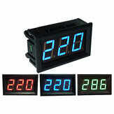 0.56 pouces AC70-500V Mini Digital Volt Meterr Voltage Panel Meter AC Tension LED Display Meter