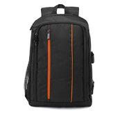 16 Inch Nylon Tas Kamera Tahan Air Besar Luar Shockproof Digital DSLR Camera Backpack untuk Nikon