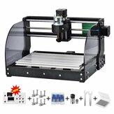 Opgewaardeerd 3018 Pro Offline CNC-graveur DIY 3Axis GRBL lasergraveermachine Houtrouter