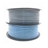 CCTREE® 1.75mm 1KG Glitter Silver/Blue PLA Filament for 3D Printer