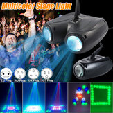 Single Head / Double Heads LED Stage Light 10W 20W RGBW Auto / Voice-geactiveerde Party Disco DJ Projector AC90-240V