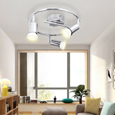 3 Heads GU10 LED Downlight Ceiling Light Adjustable Spotlight Home Office Wall Lamp 85-265V