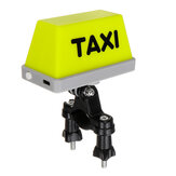 Helmet/Handlebar USB Rechargeable TAXI Sign Light Indicator Decoration For Motorcycle Bike Electirc Scooter