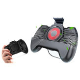 Bakeey Cooling Fan Handle Gamepad Radiator Holder Stand Heatsink With Mini Power Bank For Mobile Phone