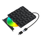 BlitzWolf®BW-VD1 USB3.0 Type-C Внешний записывающий DVD-плеер Оптический привод для ПК / Ноутбука Дома / На открытом воздухе / Работа