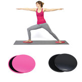 2PCS Gliding Slider Fitness Double-Sided Sliding Plate Yoga Abdominal Core Training Exercise Tools