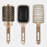 Professional Air Cushion Comb Set Metal Scalp Massager Hairbrush Combs Multifuncional Combing Brush Hair Styling Tool