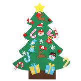 Gevulde Kerstboom Set Ornamenten Gift Door Wall Hanging Decoration