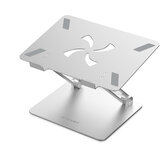 BlitzWolf®BW-ELS4 Laptop Stand Bracket Foldable Aluminum Alloy Laptop Stand Heat Dissipation Adjustable Angle Hold up to 8kg Broad Compatibility