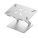 BlitzWolf®BW-ELS4 Suporte de suporte para laptop Dobrável em liga de alumínio Suporte para laptop com dissipação de calor Ângulo ajustável Suporte até 8 kg Ampla compatibilidade