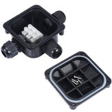 IP68 3 Wires Waterproof Junction Terminal Case Box Cable Protection Building Connectors for Outdoor Lighting Connections