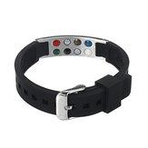 7 in 1 Bio Bracelet TITANIUM Magnetic Energy Armband Power Bracelet Health Bracelet