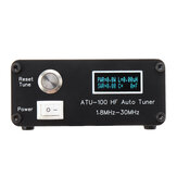 ATU100 Automatic Antenna Tuner 100W 1.8-30MHz Assembled For 5-100W Shortwave Radio Stations ATU-100