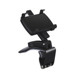 360° Car Mobile Phone Holder Clip On Dashboard /Sun Visor/Rearview Mirror Stand