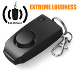 New Anti-rape Device Alarm System Extreme Loud Alert Keychain Safety Personal Security with Widgets for Women Children