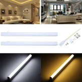 30cm 5W 440LM SMD2835 T5 LED Fluorescent Tube Light with Switch Warm/Pure White AC85-265V