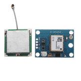 फ्लाइट कंट्रोल ईईपीरोएम एमडब्ल्यूसी एपीएम 2.5 बड़े एंटीना के साथ नया GPS मॉड्यूल V2