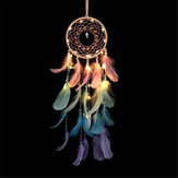 Dream Catcher Light Hollow Round Dreamcatcher Bedroom Living Room Wall Decorations