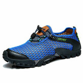 Uomo Mesh Anti Collisione Toe Escursionismo Arrampicata Outdoor Athletic Shoes