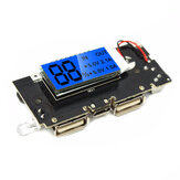 Dual USB 5V 1A 2.1A Mobile Power Bank 18650 Battery Charger PCB Module Board