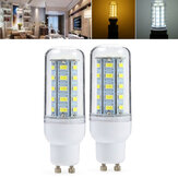 ZX GU10 5W 36 SMD 5730 LED Light Pure White Warm White Cover Corn Bulb AC110V