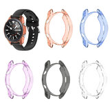 Bakeey Translucent Non-Yellow Soft TPU Housse de boîtier de montre antichoc pour Samsung Galaxy Watch3 45mm R840 / Galaxy Watch 3 41mm R850