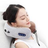 Elektrische nekmassager U-vormig kussen Multifunctionele draagbare schouder Cervicale stimulator Outdoor Home Car Ontspannende massage
