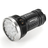 Astrolux MF01 18x XP-G3 / Nichia 219C 12000LM Súper brillante Searching Level LED Linterna 18650