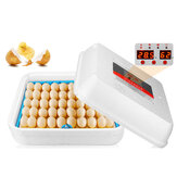 70Pcs Eggs Incubator Fully Automatic Egg Hatcher Machine LED Turner Chicken Duck