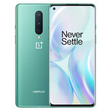 OnePlus 8 5G Global Rom 8GB 128GB Snapdragon 865 6.55 inch FHD+ 90Hz Refresh Rate NFC Android 10 4300mAh 48MP Triple Rear Camera Smartphone
