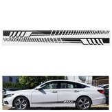 2PCS 205cm Racing Stripe Totem Body Sticker Skirt laterale Decalcomania in vinile Decor