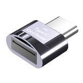 Biaze Type-C Kart Okuyucu TF Kart Okuyucu USB C OTG Hafıza Kartı Adaptörü Akıllı Kart Okuyucu Android Telefonlar için Type-C Liman