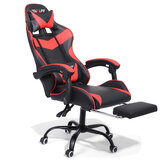Douxlife® Racing GC-RC02 Gaming Chair  Ergonomic Design 150°Reclining Thick Padded Back Integrated Armrest Restractable Footrest for Home Office