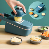 Multi-function Vegetable Slicer Cutter Potato Wavy Grater with Strainer for Home Kitchen Food Cutting Tool