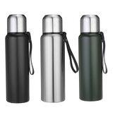 Bottiglie dell'isolamento di vuoto dell'acqua dell'acciaio inossidabile di sport all'aperto 800/1000 / 1500ml