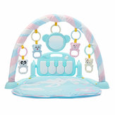 3-in-1 Cute Rainforest Musical Ninna nanna Bassinet Baby Activity Playmat Gym Stuoia del gioco del giocattolo