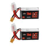 2 pezzi URUAV 18,5 V 550 mAh 95 C 5 S Lipo Batteria XT30 Spina per RC Racing Drone