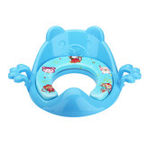 Baby Toilet Trainer Leuke tekenfilms Veilige handgrepen Kids Peuter Potty Chair Seat Baby Potties Seat