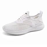 Męskie siatkowe oddychające lekkie sportowe buty do biegania
