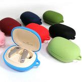 Bakeey Soft Προστατευτική θήκη σιλικόνης με ανθεκτική στη σκόνη με Carabiner για ακουστικά Bluetooth EDIFIER TWS NB2