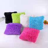 45 x 45 centímetros Soft Plush Square Pillow Caso Sofá Cintura Throw Cobertura Cobertura Home Decoration