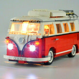 DIY LED Light Lighting Kit for Lego 10220 Volkswagens T1 Campers Van Bricks Y H