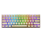 108 Key PBT OEM White Pudding Keycap Translucent Key Caps voor mechanisch toetsenbord