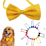 Cães multicolor pet Bow Tie cão gravata gato laço pet grooming suprimentos